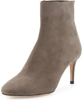 Jimmy Choo Duke Suede 65mm Ankle Boot, Taupe Gray