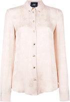 Class Roberto Cavalli stars print shirt - women - Viscose - 42