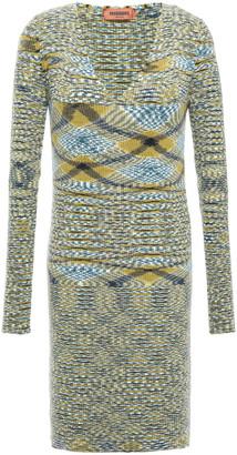 Missoni Ribbed Cashmere Mini Dress