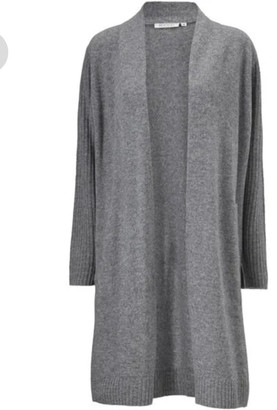 Masai Clothing Company - Lempi Grey Cardigan - Medium (14) | wool | grey - Grey/Grey