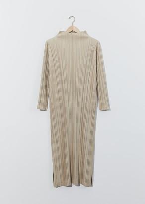 Pleats Please Issey Miyake Shiny Pleats Dress
