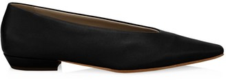 Bottega Veneta Almond Leather Flats