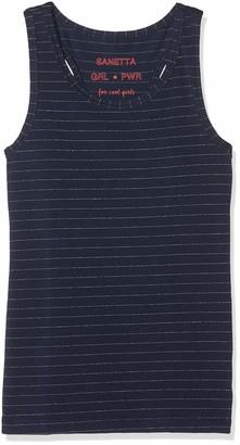 Sanetta Girl's Shirt W/o Sleeves Striped Vest