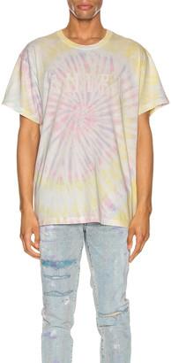 Amiri Tie Dye Hippie Tee in Pastel Tie Dye | FWRD