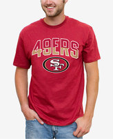 Junk Food Clothing Men's San Francisco 49ers Split Arch T-Shirt