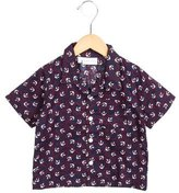 Rachel Riley Boys' Anchor Print Button-Up Shirt