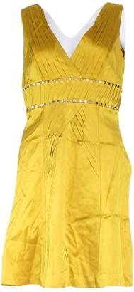 Karen Millen Yellow Silk Dresses