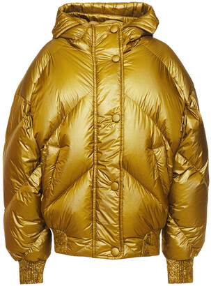 Ienki Ienki Dunlope Quilted Shell Hooded Down Coat