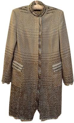 Strenesse Blue Tweed Coat for Women