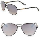 Ted Baker 58MM Aviator Sunglasses