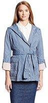 Jessica Simpson Women's Raincoat with Hood