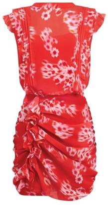 AllSaints Floral Hali Jasmine Dress