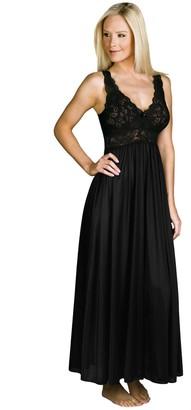 Shadowline Women's Silhouette 53 Inch Sleeveless Long Gown