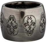 Thomas Wylde Engraved Skull Band