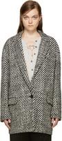 Isabel Marant Black & White Ilaria Coat
