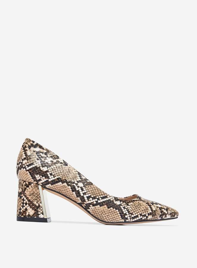 443b5d001dc Womens Multi Colour Snake Print 'Daydream' Court Shoes
