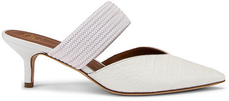 Malone Souliers Maisie 45 Heel in White | FWRD