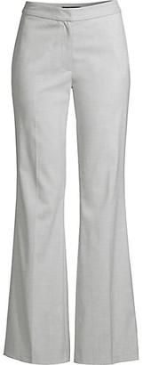 Donna Karan Tropical Stretch Flare Pants