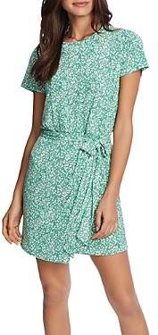 1 STATE 1.state Folk Silhouette Floral Dress