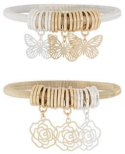 Monsoon 2x Spring Charm Bracelets