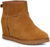 UGG Classic Femme Hidden Wedge Mini Ankle Boots - Chestnut