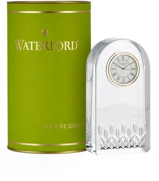 Waterford Lismore Essence Crystal Clock