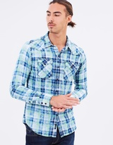 Replay Faded Tartan Shirt