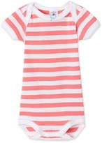 Petit Bateau Baby girls striped bodysuit