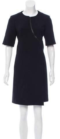 Calvin Klein Collection Crew Neck Mini Dress