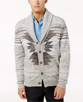 American Rag Men's Southwest Cardigan Sweater, Created for Macy's