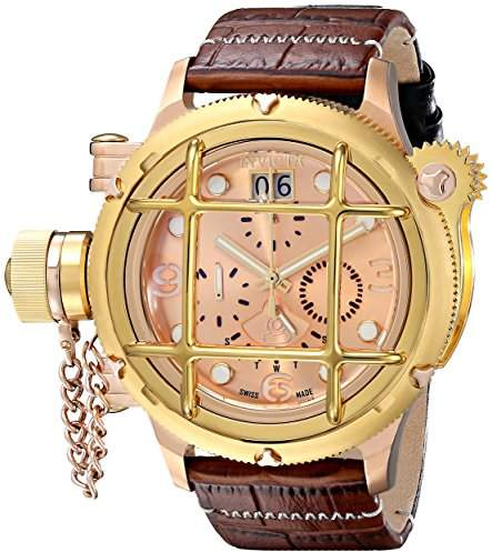 Invicta Men's 17327 Russian Diver Analog Display Swiss Quartz Brown Watch
