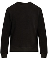 Fanmail Crew-neck French terry-towelling sweatshirt