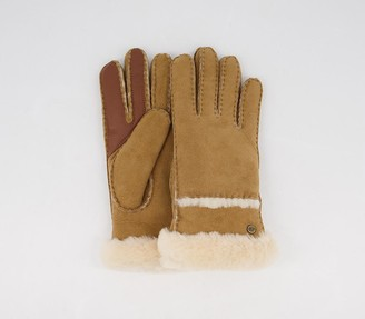 UGG Seamed Tech Gloves Chestnut