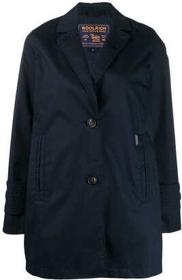 Woolrich Single-Breasted Trench Coat