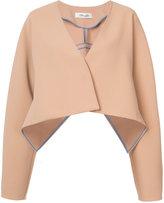 Diane von Furstenberg oversized cropped jacket