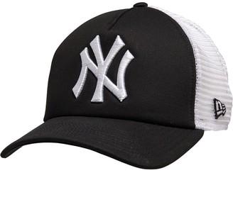 New Era MLB New York Yankees Trucker Cap Black/White