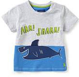 Joules Baby/Little Boys 12 Months-3T Clawsome Shark-Applique Top