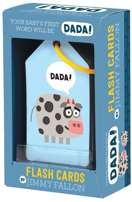 Mudpuppy x Jimmy Fallon Flash Cards Your Baby's First Word Will Be Dada