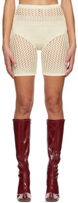 Isa Boulder SSENSE Exclusive Off-White Impressive Shorts