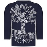 Timberland TimberlandBaby Boys Navy Organic Cotton Top