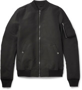 Rick Owens - Flight Canvas Bomber Jacket