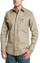 Wrangler Men's Big & Tall Authentic Cowboy Cut Western Work Shirt