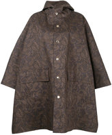 MACKINTOSH paisley print cape