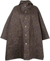MACKINTOSH paisley print cape