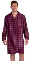 i-Smalls Haigman Men's Luxury Brushed Cotton Nightshirt Nightwear 7394