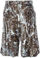 Christian Wijnants 'Mystery' shorts - women - Silk/Spandex/Elastane - 36