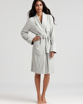 Lauren Ralph Lauren Quilted Collar & Cuffs Short Robe