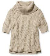 L.L. Bean Signature Open-Stitch Sweater