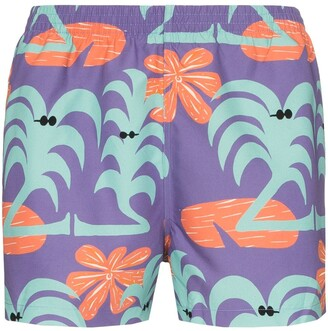 Timo Trunks Seminyak printed swim trunks
