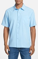 Quiksilver Men's Waterman Collection 'Centinela 4' Short Sleeve Sport Shirt